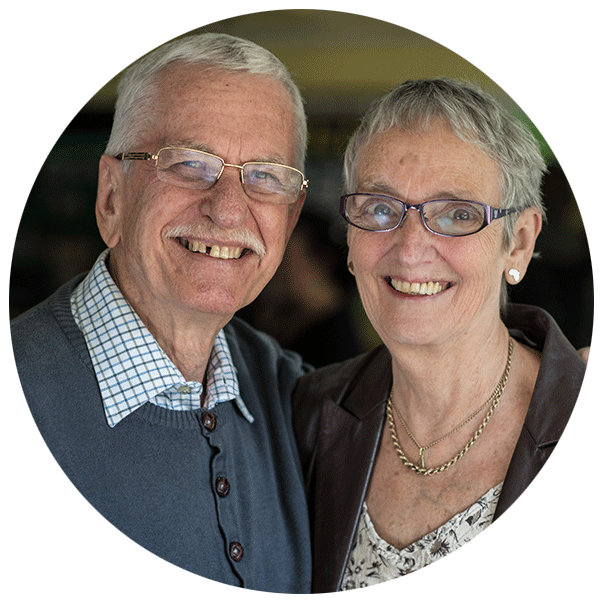 Clive & Mary Beckenham