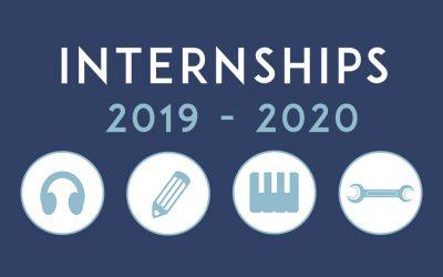 Internship Programme 2019-2020